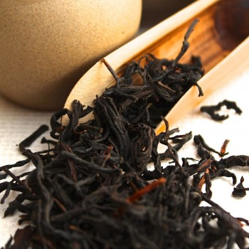 A scoop of Sun Moon Lake Assam Black Tea