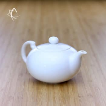 Elegant Teapot Larger Size Angled View