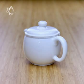 Everyday Turret Teapot Back Angled View