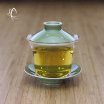 Glass Gaiwan with Moss Green Porcelain Featured View