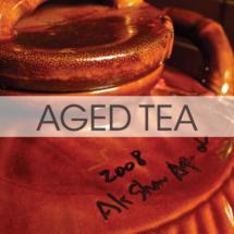 Aged Teas