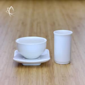 Gongfu Tea Cup Tasting Set with Small Heicha Tea Cup