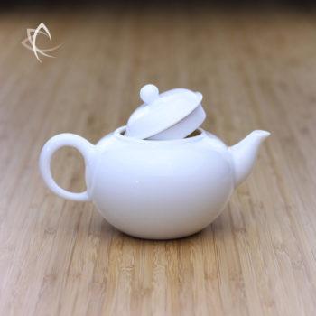 Larger Classic Shui Ping Teapot Lid Open View