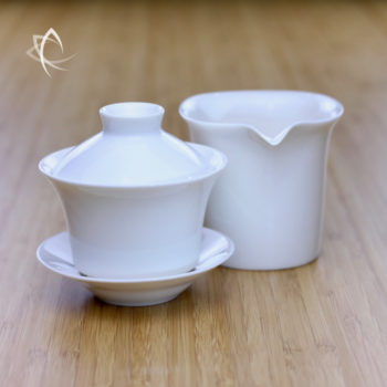 Classic Gaiwan and Small Calla Pitcher