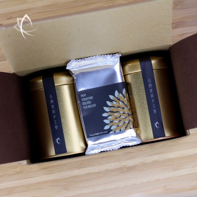Meishan High Mountain Tea Gift Set - Taiwan Tea Crafts