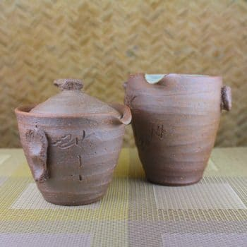 Master Zhuan's Houhin Teapot and Pitcher Set Other View