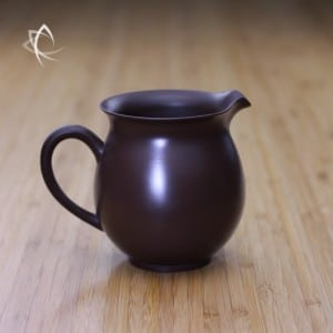Larger Classic Purple Clay Tea Pitcher Featured View