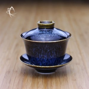 Blue Hare's Fur Gaiwan Featured View