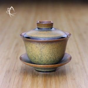 Tea Dust Glaze Gaiwan Featured View