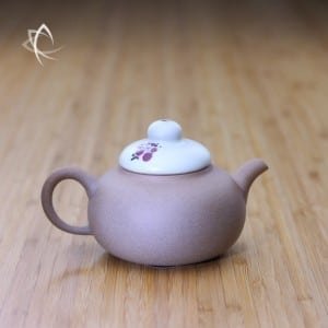 Plum Blossom Gourd Shaped Clay Teapot Featured View