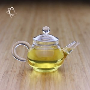 Small Glass Gongfu Teapot Featured View