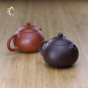 Small Xi Shi Purple Clay and Red Clay Teapot Featured View