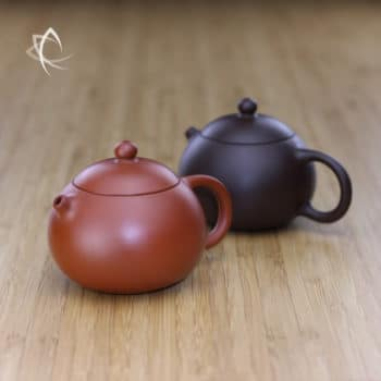 Small Xi Shi Red Clay and Purple Teapots Featured View
