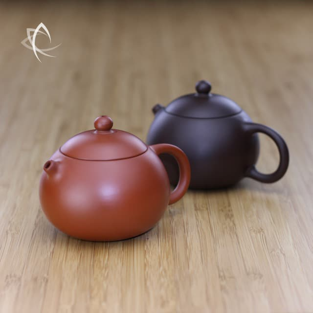 Small Xi Shi Clay Teapot 100 Ml Taiwan Tea Crafts