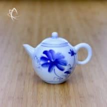Blue Lotus Mingyue Gongfu Teapot Left Side View