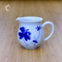 Blue Lotus Solo Tea Pitcher Left Side View
