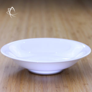 Ivory Porcelain Tea Plate Feature View