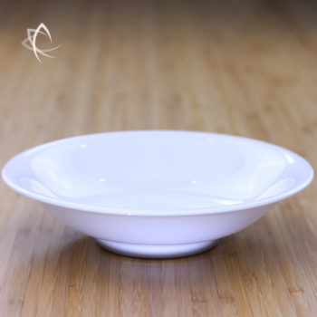 Ivory Porcelain Tea Plate Feature View
