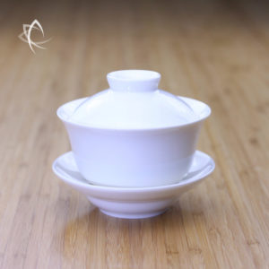 Larger Ivory Porcelain Gaiwan Featured View