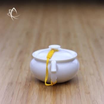 Smaller Beaked Everyday Teapot Handle View