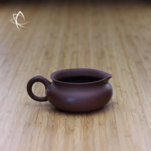 Vintage Purple Clay Low Tea Pitcher Featured View