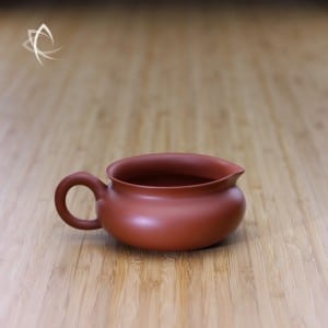 Vintage Red Clay Low Tea Pitcher Featured View
