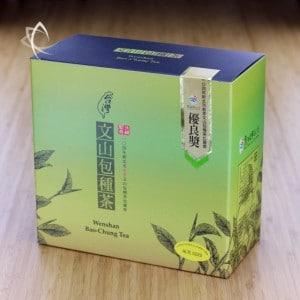 Spring 2017 Competition Wenshan Bao Zhong Tea Box
