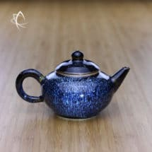 Blue Hare's Fur Classic Shui Ping Teapot Featured View
