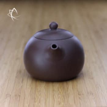 Larger Xi Shi Purple Clay Teapot Spout View