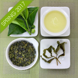 Organic Lishan High Mountain Oolong Tea Spring 2017