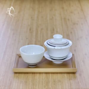Bamboo Tea Service Tray Featured View