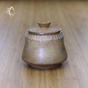 Moondust Ochre Larger Tea Urn Featured View