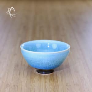 New Azure Hare's Fur Larger Half Moon Tea Cup Featured View