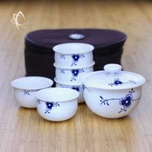 Tang Arabesque Travel Tea Set for 5 Featured View