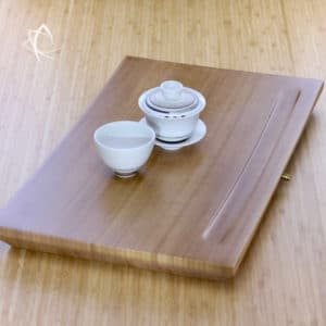 Contemporary Bamboo Tea Table Featured View