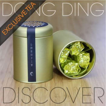 Dong Ding Discovery Tea Sampler Tin with Exclusive Tea