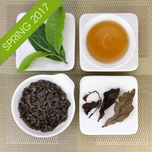 "Organic ""Mi Xiang"" GABA Oolong Tea, Lot 608"