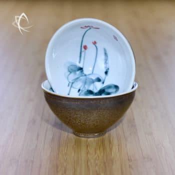 Gilded Tea Cups Design 1