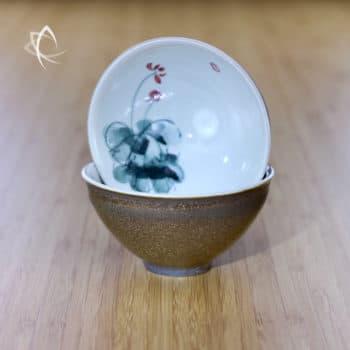 Gilded Tea Cups Design 2