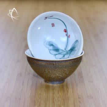 Gilded Tea Cups Design 3