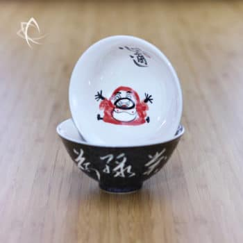 Hand Painted Luohan Tea Cup Design 3