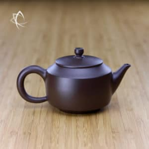 Hand Thrown Angular De Zhong Shaped Teapot Featured View