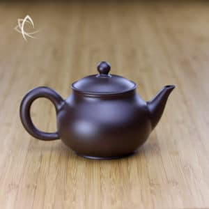 Hand Thrown Elegant Purple Clay Teapot Featured View