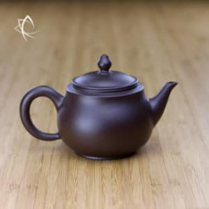 Hand Thrown Refined Purple Clay Teapot Featured View