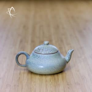 Slate Grey Ju Pi Stubby Pear-Shaped Teapot Featured View