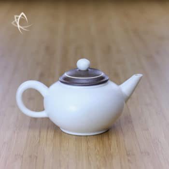Chocolate Swirl Shui Ping Teapot Featured View