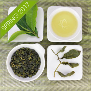 Lishan Cui Luan High Mountain Oolong Tea Spring 2017