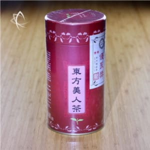2nd Grade Competition Oriental Beauty Tea Tin