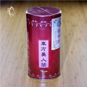 3rd Place Competition Oriental Beauty Tea Tin