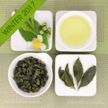 Fushoushan High Mountain Oolong Tea Winter 2017